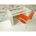 Altra Desk in White with Chair