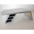 Aviator Desk with Yellow Stripe
