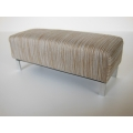 Bolero Bench in Brown / Beige Stripe