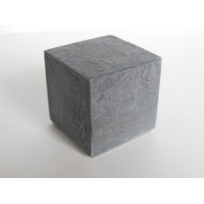 Dark Concrete Cube