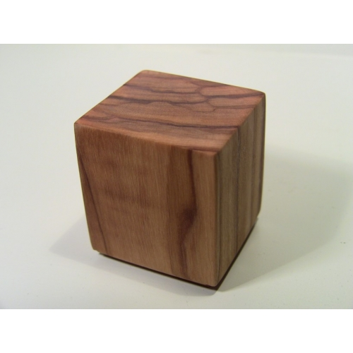 Modern Dollhouse Furniture M112 Pods Olive Wood Cube By Paris Renfroe Design