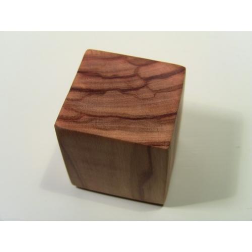 Modern Dollhouse Furniture M112 PODS Olive Wood Cube