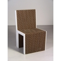 Ayche Chair in Natural with White Edge