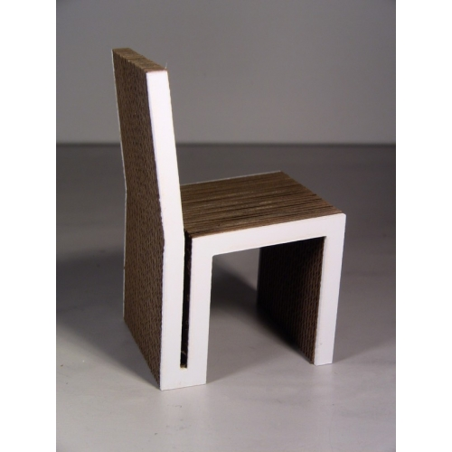 Modern Dollhouse Furniture M112 Pods Ayche Chair In