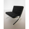 Barcelona Chair Stock Black/Chrome