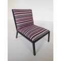 Carmel Chair in Pink Stripe
