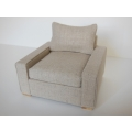 Davis Chair in Linen Wheat