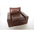 Davis Chair in Vintage Brown