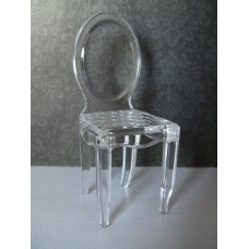 Ghost Dining Chair in Clear
