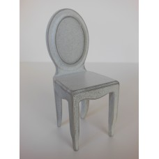 Ghost Dining Chair in Distressed White