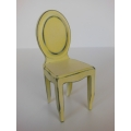Ghost Dining Chair in Distressed Yellow