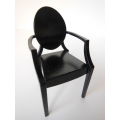 Ghost Arm Chair in Black