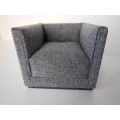 Metro Petite Chair in Gray
