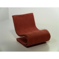 S Chair in Burnt Orange