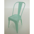 Tolix Chair in Light Blue