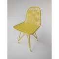 Wire Chair in Yellow