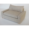 Davis Loveseat in Linen Wheat