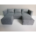 Gray Metro Sectional
