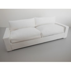 Davis Sofa in Linen White