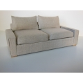 Davis Sofa in Linen Wheat