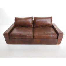 Davis Sofa in Vintage Brown