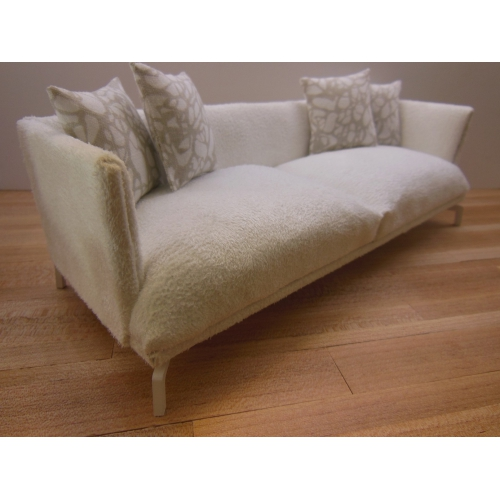 how to clean white suede couch