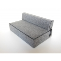Moda Convertible Sofa in Gray Fabric