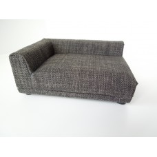 Uno Sofa in Grey Tweed