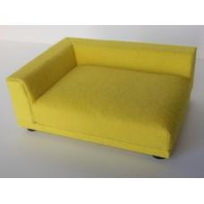 Uno Sofa in Canary Yellow - Left Arm