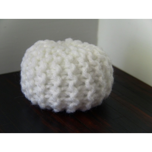 Modern Dollhouse Furniture M112 Pods Knitted Pouf By