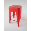 Tolix Stool in Red