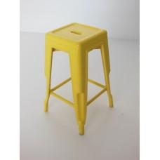 Tolix Stool in Yellow