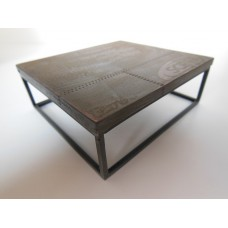 Industrial Coffee Table - Large Square