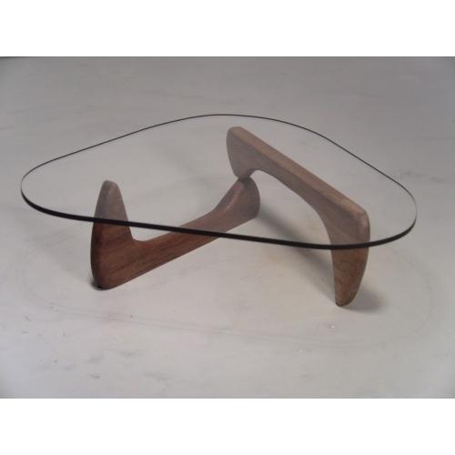 Modern Dollhouse Furniture M PODS Noguchi Table In Walnut By - Mini noguchi table