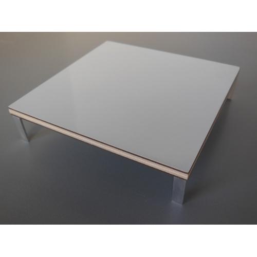 Modern Dollhouse Furniture M112 PODS White Laminate Coffee Table