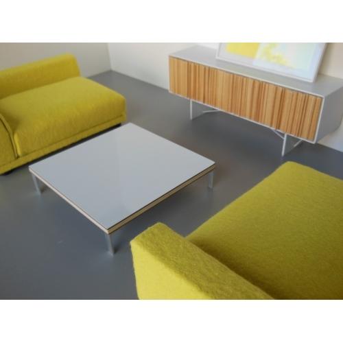 Perfect White Laminate Coffee Table