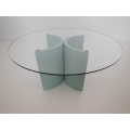 "Lotus ""2"" Dining Table in Blue"