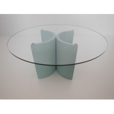 """Lotus """"2"""" Dining Table in Blue"""