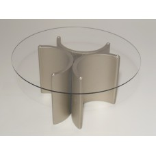 """Lotus """"3"""" Dining Table in Champagne"""