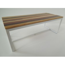 Parsons Dining Table - White Base with M.U.T.T. Top