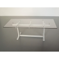 Trellis Dining Table in White