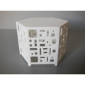 Casablanca Side Table in White
