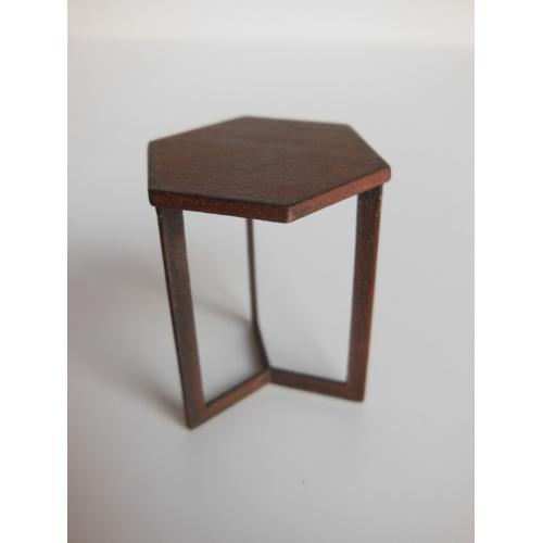 Hexagon Side Tables Table Design Ideas