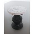 Travy Pedestal Side Table