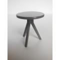 Tripod Side Table in Gray