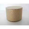 Gold Pebble Round Drum Table