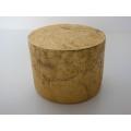 Vintage Gold Round Drum Table