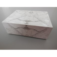 Marble Rectangle Pedestal Table