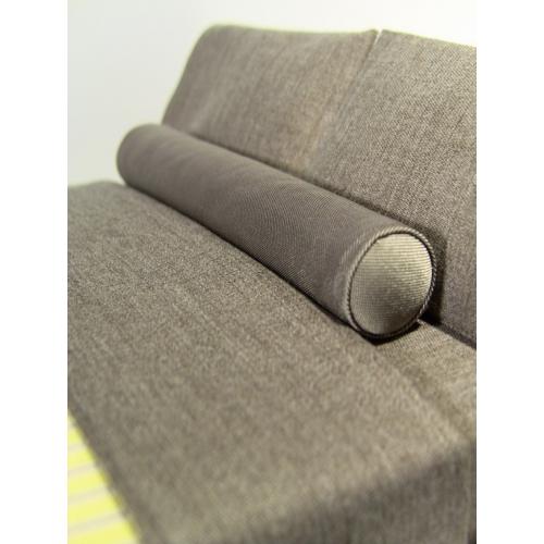 ash long bolster pillow