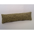 Gold Circle Long Oblong Pillow